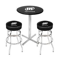 PUB TABLE & 2 STOOL SET