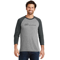 MEN'S RAGLAN 3/4 SLEEVE T-SHIRT