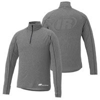 MEN'S TAZA KNIT QUARTER ZIP- IR  2 LOCATION