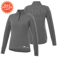 LADIES TAZA KNIT QUARTER ZIP-IR  2 LOCATION