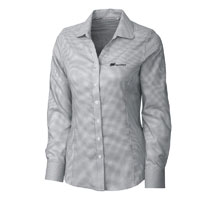 CUTTER & BUCK LADIES' TATTERSALL SHIRT