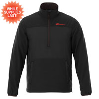 ELEVATE MEN'S HALF ZIP JACKET