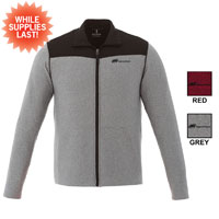 ELEVATE MENS PERREN KNIT JACKET