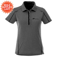 ELEVATE LADIES' HEATHERED POLO